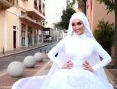 """عروس بيروت تروى تفاصيل اللحظات الأخيرة قبل الانفجار فى """"معكم منى الشاذلى"""""""