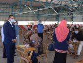 """رئيس جامعة سوهاج يواصل جولاته التفقدية لأعمال امتحانات نهاية العام """"صور"""""""
