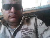 """كلنا جيش مصر.. """"وسام"""" من القاهرة يشارك صحافة المواطن صورته بالزى العسكرى"""