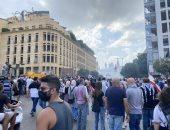 يوم الحساب.. انتفاضة رفع المشانق فى شوارع بيروت (فيديو)