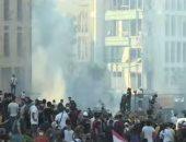 محافظ بيروت يأمر فرق الدفاع المدنى بعدم الخروج لإطفاء الحرائق