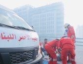 الصليب الأحمر اللبنانى: أكثر من 110 أشخاص أصيبوا فى احتجاجات بيروت