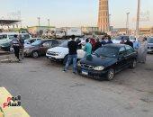 صور.. أهالى المصريين ضحايا انفجار مرفأ بيروت يصلون المطار لاستلام جثامين ذويهم