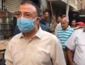 فيديو.. محافظ الإسكندرية: جارى إزالة 90 سوقا عشوائيا