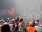 ليلة الغضب.. شاهد القصة الكاملة لتظاهرات لبنان (فيديو)