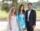 فيديو وصور.. هند عبد الحليم تحتفل بزفافها بحضور درة وعمر الشناوى