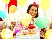 شيماء سيف تشارك صور عيد ميلادها مع الجمهور وتشكرهم على تهنئاتهم