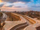 شاهد وزارة الآثار تنشر صورا لمراحل تطوير سور مجرى العيون