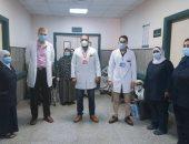 صحة بنى سويف: تعافى 10 مصابين بكورونا وخروجهم من مستشفى الواسطى