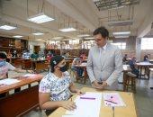 رئيس جامعة حلوان يتابع اختبارات القدرات بالفنون الجميلة في الزمالك.. صور