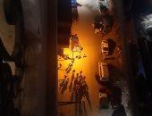 إخلاء عقار مكون من 11 طابقا بعد وجود تصدعات وتشققات بالجدران بمدينة بنها