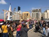 اللبنانيون يدعون إلى انتفاضة لا تتوقف بعد احتجاجات حاشدة فى بيروت
