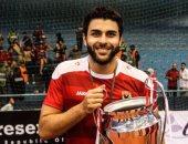 محمود فايز لاعب يد الأهلى ينضم للشارقة الإماراتى لمدة موسم