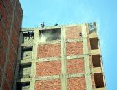 محافظ القليوبية: إزالة أدوار مخالفة من أحد الأبراج ببنها بعد حدوث ميل وتصدعات