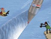 كاريكاتير صحيفة إماراتية.. ترسيم الحدود مع اليونان قطع الطريق أمام أطماع أردوغان