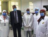 التأمين الصحى ببنى سويف: تطبيق مكافحة العدوى وتطهير لجان امتحانات دبلوم التمريض