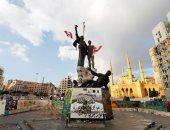 هدوء حذر بساحة الشهداء بالعاصمة اللبنانية بيروت