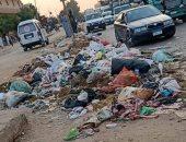 شكوى من تراكم القمامة فى قرية نكلا منشأة القناطر بالجيزة