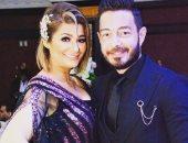 """زوجة أحمد زاهر توجه له رسالة رومانسية: """"عمودى الفقرى بحبك يا راجلى"""""""