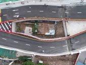 مقاطعة صينية تبنى جسرا حول منزل صغير لرفض مالكته الخروج منه والحصول على تعويض
