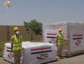 مصر ترسل طائرة المساعدات العسكرية الثالثة للبنان