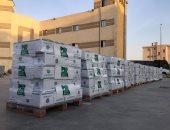 متطوعو مصر الخير يشاركون فى تجهيز مواد الإغاثة المقدمة للشعب اللبنانى