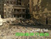 استجابة لصحافة المواطن.. الرصد البيئى بالإسكندرية يرفع القمامة بشارع السلام