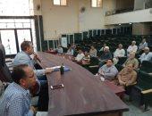 رئيس مدينة ملوى : رصد أى مخالفات بناء ومواجهتها بحسم خلال أيام انتخابات الشيوخ