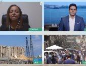 كاتبة لبنانية تطالب بتشكيل حكومة محايدة وتؤكد : مصر صوتنا فى المجتمع الدولى