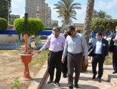 تطوير 25 دورة مياه عمومية بالحدائق العامة والميادين والشوارع بالمنصورة