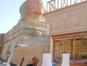 قارئ يشارك بصور لمجسمات فنية مميزة منها أبو الهول والأهرامات