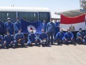 عمال البترول يشاركون فى انتخابات مجلس الشيوخ بالبدلة الزرقاء.. صور