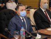 شاهد.. وزير الداخلية يتابع سير الانتخابات من غرفة العمليات عبر الفيديو كونفراس