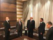 سامح شكرى يبحث الأوضاع السياسية اللبنانية مع رؤساء الوزراء السابقين .. صور