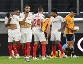 """البايرن ضد إشبيلية.. أوكامبوس يحرز الهدف الأول للفريق الأندلسى """"فيديو"""""""