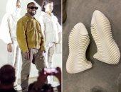 """التصميم الجديد لأحذية كانى ويست يثير السخرية على تويتر.. """"شبه المكرونة"""""""