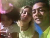 "محمد رمضان وزوجته يحتفلان بعيد ميلاد ابنتهما ""كنز"" فى حفل مبهج.. فيديو وصور"
