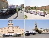 مصر تواصل فتح الجسر الجوى لإرسال مساعدات للبنان بتوجيهات من السيسى
