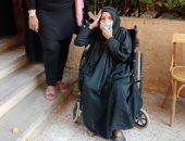 """مسنة 85 عاما تدلى بصوتها فى انتخابات الشيوخ بقنا: """"بشارك من أجل مصر"""""""