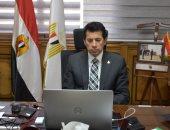 وزير الرياضة يتابع مساهمة الكوادر الشبابية فى انتخابات مجلس الشيوخ