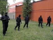شرطة بيلاروسيا تعتقل 10 محتجين على الأقل فى مينسك