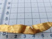 صبى بريطانى يكشف شريطا من الذهب كانت تستخدمه النساء منذ 4 آلاف سنة