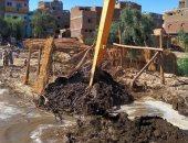حماية النيل بالأقصر تنفذ 22 قرار إزالة تعديات على حرم النهر  .. صور