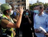 لبنان.. آثار التفجير واستمرار الرحلات الدبلوماسية الأجنبية للدعم والمساندة