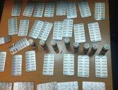 جمارك مطار القاهرة تضبط محاولة تهريب كمية من الأقراص المخدرة