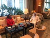 سفير البحرين بالقاهرة يستقبل نظيره الهولندى لبحث تعزيز العلاقات المشتركة