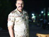 كلنا جيش مصر.. أحمد من بنى سويف يشارك بصورته أثناء الخدمة العسكرية