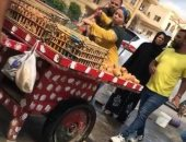 القصة الكاملة لإلغاء انتداب موظفة القاهرة الجديدة لإهانتها بائع عربة تين