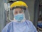 """الجيش الأبيض.. """"ميادة"""" فنية تمريض بمستشفى جامعة المنصورة فى مواجهة كورونا"""