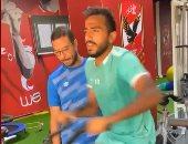 كهربا يتظلم لرئيس الأهلي من سيد عبد الحفيظ ضد عقوبتي حارسي الفريق